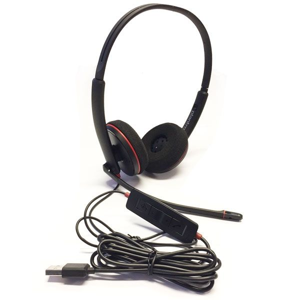 Plantronics Blackwire 3220 USB Negro