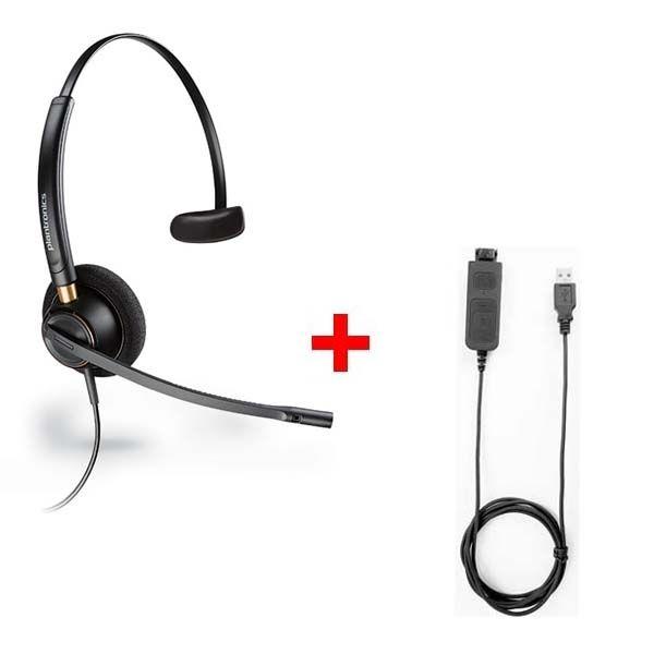 Pack: Plantronics Encore Pro 510 + Cable USB80