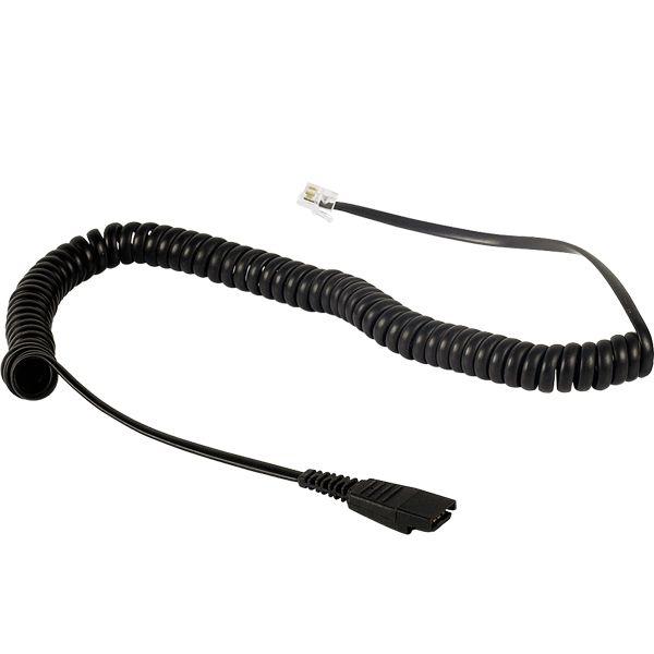 Cable de conexión rizado Plantronics