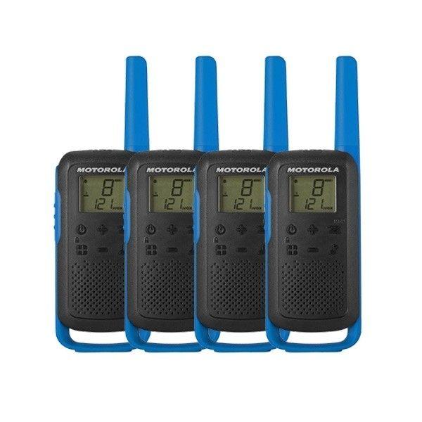 Pack cuarteto Motorola Talkabout T62 Azul  (2 pares)