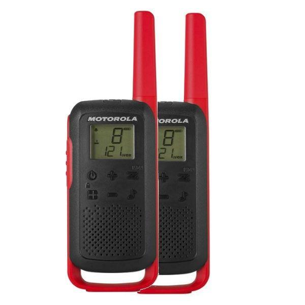 Motorola TALKABOUT, T62 - Rojo