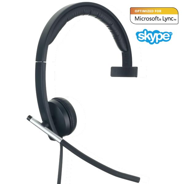 Logitech Usb Headset Mono H650E Right