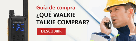 Guía walkie talkies