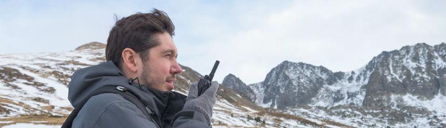 Walkie Talkie para Esquí