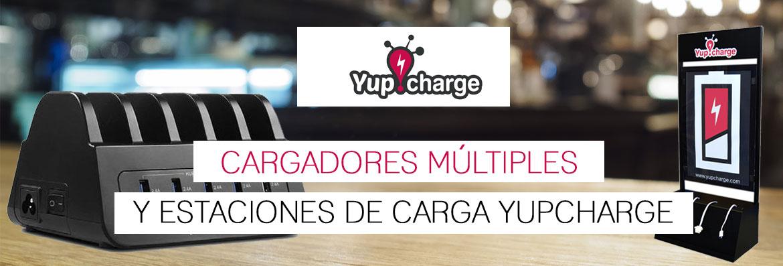Cargadores múltiples y estaciones de carga Yupcharge