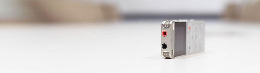 Accesorios para grabadoras