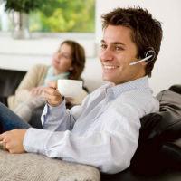 Teléfono Inalámbrico con Auriculares