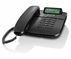 Teléfono fijo Gigaset DA610 Negro