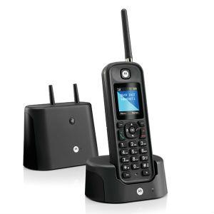 Teléfono DECT inalámbrico de largo alcance